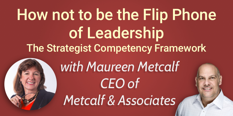 Maureen Metcalf's Strategist Competency Framework