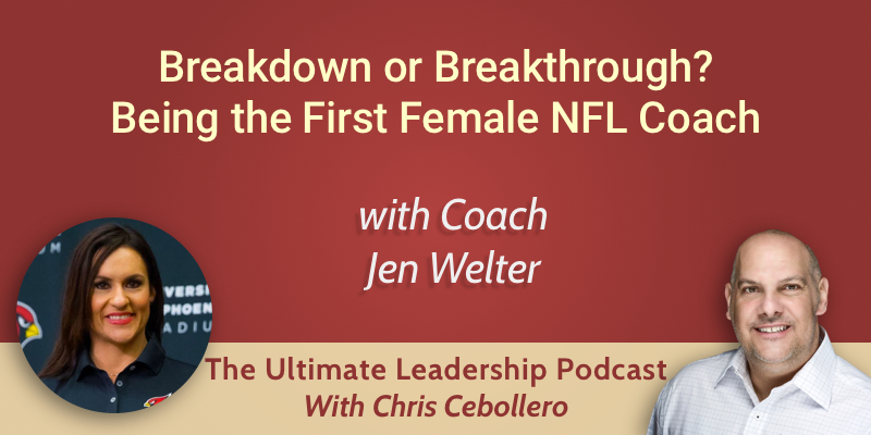 Breakdown or Breakthrough? Jen Welter on the Pressure of Being the First Female NFL Coach