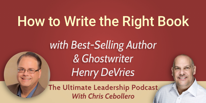 How to Write the Right Book